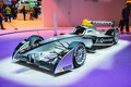 Frankfurt sept spark renault formula e race car presented as world premiere at the th iaa internationale automobil ausstellung on Stock Photos