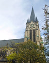 Frankfurt st antonius kirche cathedral Royalty Free Stock Photos