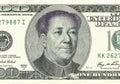 Franklin convirtió a Mao en el billete de dólar 100 Foto de archivo