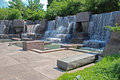 Franklin Delano Roosevelt Memorial in Washington Stock Photography