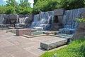 Franklin Delano Roosevelt Memorial in Washington Royalty Free Stock Photo
