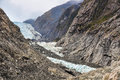 Franz josef glacier in new zealand view of Stock Photography