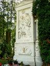 Franz Schubert grave Royalty Free Stock Photo