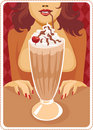 Frappe Stock Image