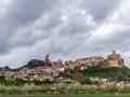 Frías panoramic view of burgos spain Stock Photography