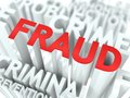 Fraud Background Conceptual Design. Stock Photo