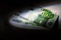 Fraud business, hidden money Royalty Free Stock Photo