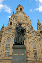 Frauenkirche  Dresden Royalty Free Stock Photo