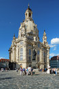 Frauenkirche in Dresden, Germany Stock Image