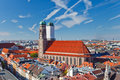 Frauenkirche on Marienplatz, Munich Royalty Free Stock Photos