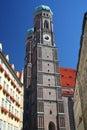 Frauenkirche in Munich Stock Image