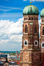 Frauenkirche in Munich, German Stock Photo