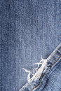 Frayed jeans texture for background Royalty Free Stock Photo