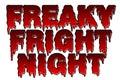 Freaky Fright Night halloween theme