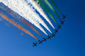 Frecce tricolore Royalty Free Stock Photo