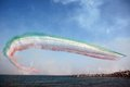 Frecce Tricolori - Italian Air Force Acrobatic Team Royalty Free Stock Photo