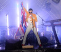Freddie Mercury Tribute Royalty Free Stock Photo