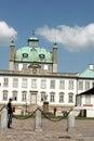 Fredensborg castel, guard Royalty Free Stock Photo