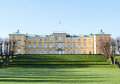 Frederiksberg palace denmark seen from park Royalty Free Stock Photo