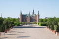 Frederiksborg Slot Castle, Hilleroed, Denmark Royalty Free Stock Photo