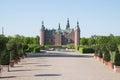Frederiksborg Slot Castle, Hilleroed, Denmark Royalty Free Stock Photo