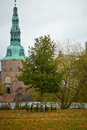 Frederiksborg slot  in Hilleroed Royalty Free Stock Photo