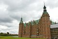 Frederiksborg slot Royalty Free Stock Photo