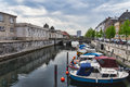Frederiksholms Canal in Copenhagen Stock Photos