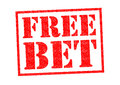 FREE BET Royalty Free Stock Photo