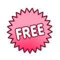 Free button vector for web sites Royalty Free Stock Photo