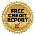 Free Credit Report Stock Photo