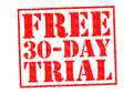 FREE 30 DAY TRIAL Royalty Free Stock Photo