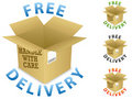 Free Delivery Icon Stock Photo