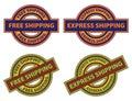 Free Express Shipping Icon Royalty Free Stock Photo