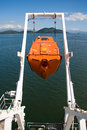 Free fall life boat Royalty Free Stock Image