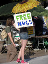 Free Hugs Royalty Free Stock Photo