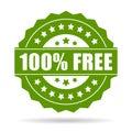 100 free icon Royalty Free Stock Photo