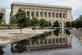 Free Library of Philadelphia Exterior Royalty Free Stock Photo