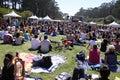 Free Outdoor San Francisco Concert Stock Photo