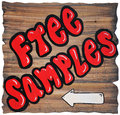 Free Samples Stock Photo