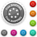 Free shipping award. Royalty Free Stock Photo