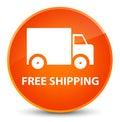 Free shipping elegant orange round button
