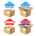 A Free Shipping Icon Royalty Free Stock Image