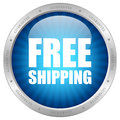 Free shipping icon Royalty Free Stock Photo