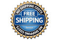 Free Shipping Label Royalty Free Stock Photo