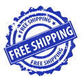 Free shipping stamp vector Royalty Free Stock Photo