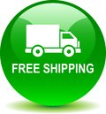 Free shipping web button