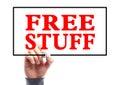 Free Stuff Royalty Free Stock Photo