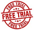 Free trial stamp Royalty Free Stock Photo