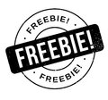 Freebie rubber stamp Royalty Free Stock Photo